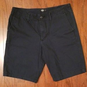 Old Navy Khaki Shorts in Navy Blue